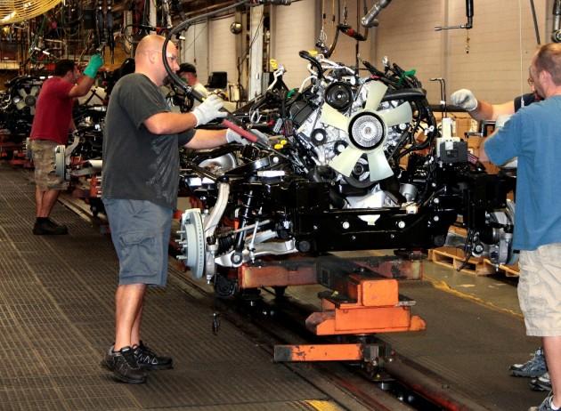 Prisoners Will Start Building Automobiles Chrylser Group Assembly Plant in Warren MI
