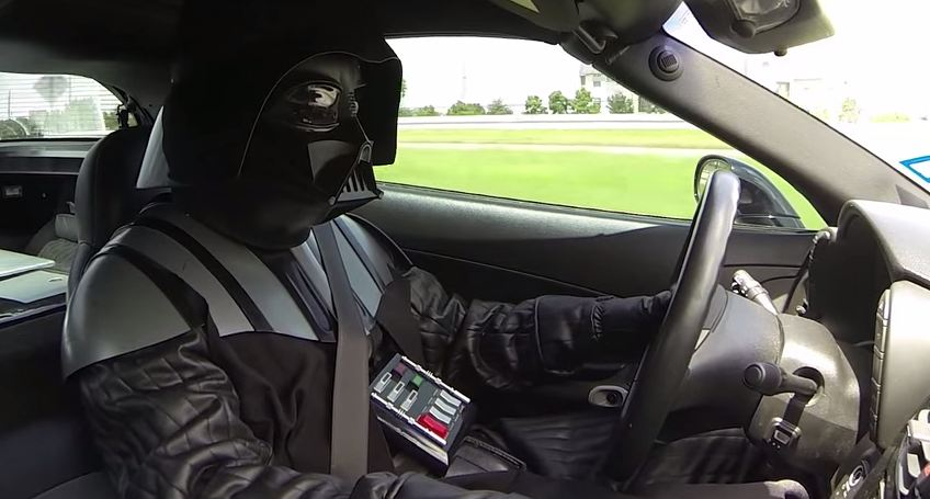 Car Wars Darth Vader Vs Chewbacca The News Wheel