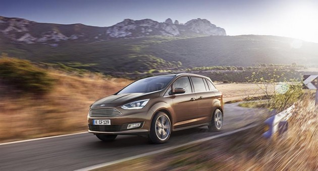 2016 Ford C-MAX Revealed