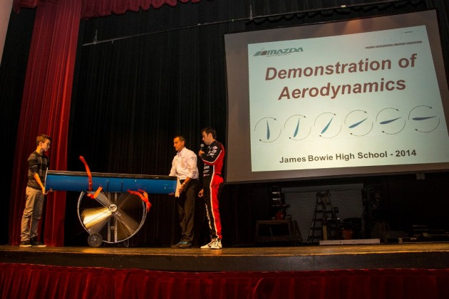 Mazda's RACE STEM+Aero+Demo