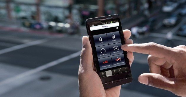 The OnStar RemoteLink app keeps drivers connected to their cars even when they're not in them.