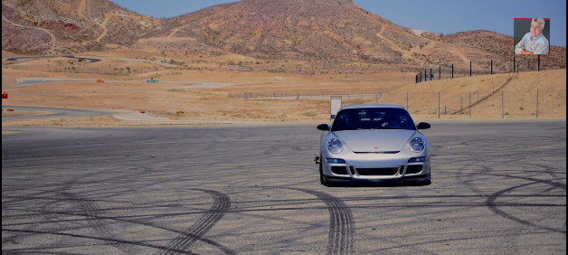 The Porsche 911 GT3 RS at Willow Springs