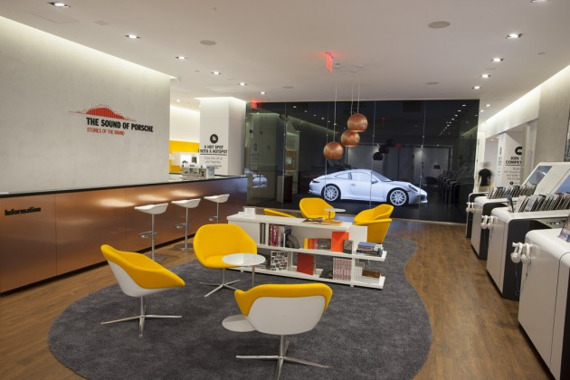 """The """"Sound of Porsche"""" experience will be open to the public in Manhattan until October 5"""