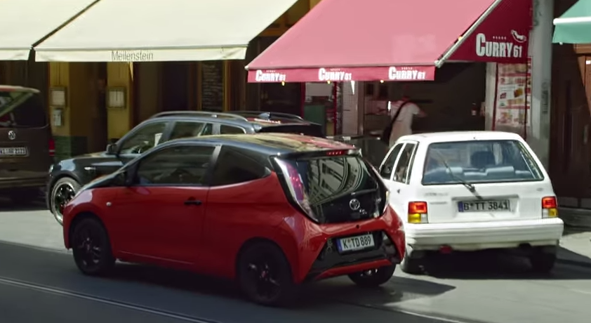 [VIDEO] Toyota Aygo Peeing Commercial Leaked - The News Wheel