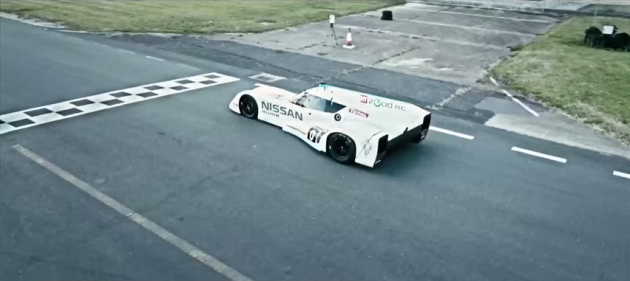 Top Gear Tests Nissan ZEOD RC