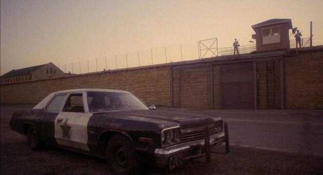 The Bluesmobile: a 1974 Dodge Monaco sedan