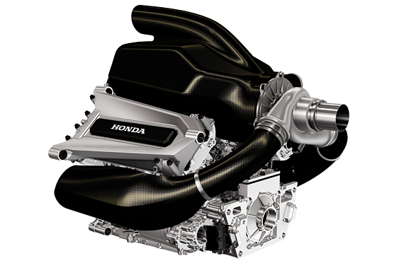 Honda's new Formula 1 engine