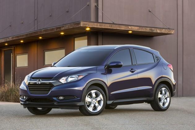 2016 Honda HR-V Fuel Economy Ratings Revealed