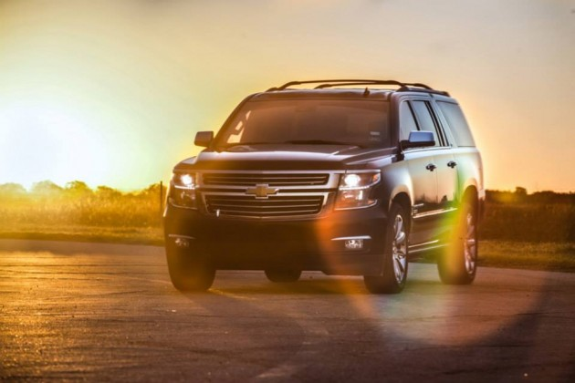 2015 Hennessey HPE500 Chevy Suburban