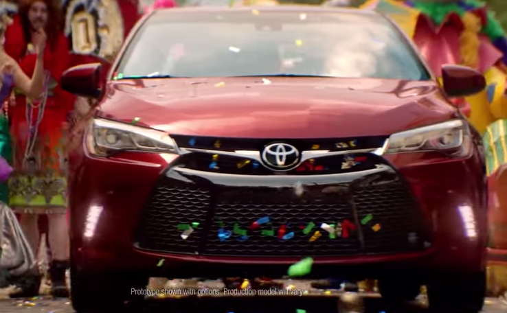 2015 Toyota Camry commercials