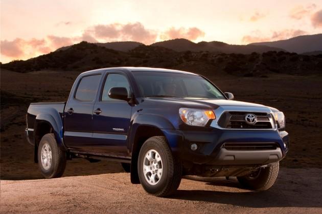 redesigned Toyota Tacoma