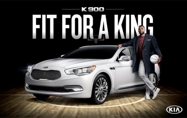 LeBron James Endorses Kia K900