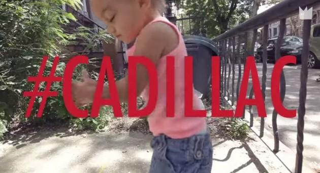 "Train's ""Cadillac, Cadillac"" stars a toddler dancing and hashtags."