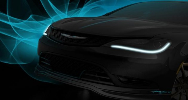 Mopar at SEMA 2014 | Chrysler 200S Mopar Concept
