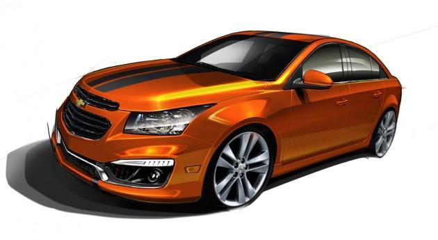Chevy's 2014 SEMA Lineup: Cruze RS Plus Concept