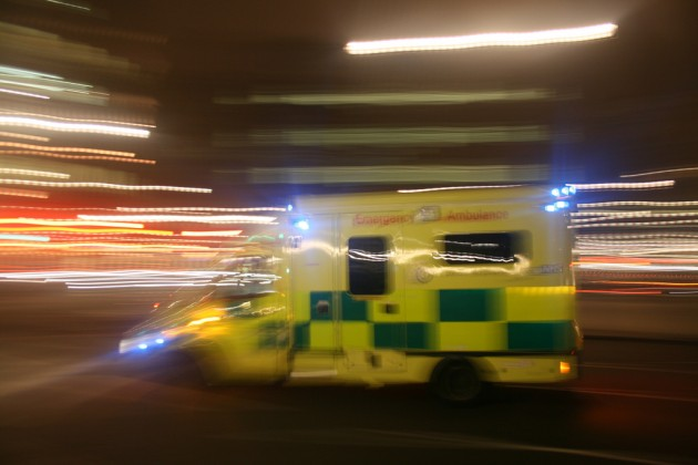 Distracted Emergency Vehicle accidents motion blur ambulance TheEssexTech