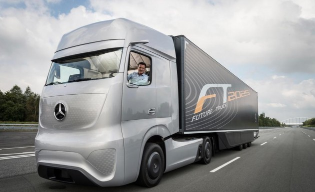 self-driving semi