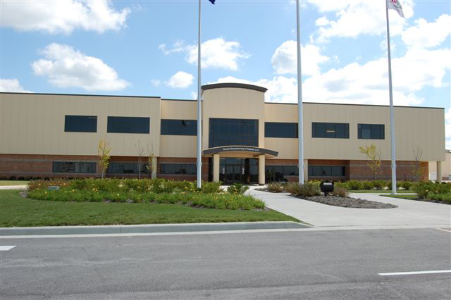 The Honda Manufacturing of Indiana Welcome Center in Greensburg Indiana, before discovering the powdery substance