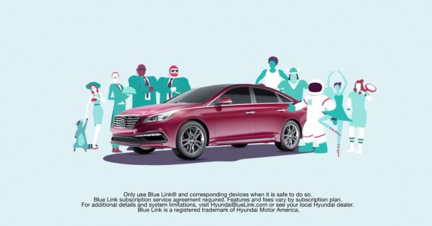 VIDEO] Hyundai Blue Link Will Fill Your Car With Strangers - The