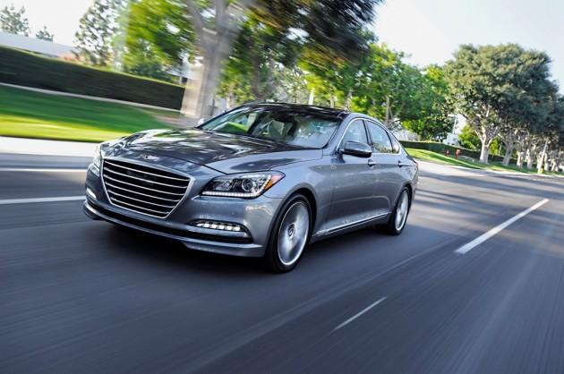 Hyundai Genesis ANCAP Highest Safety Score Ever grey exterior 2015