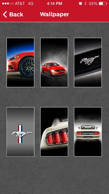 Mustang Owner app