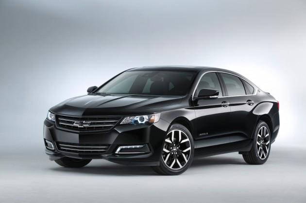 Chevy's 2014 SEMA Lineup: Impala Blackout Concept
