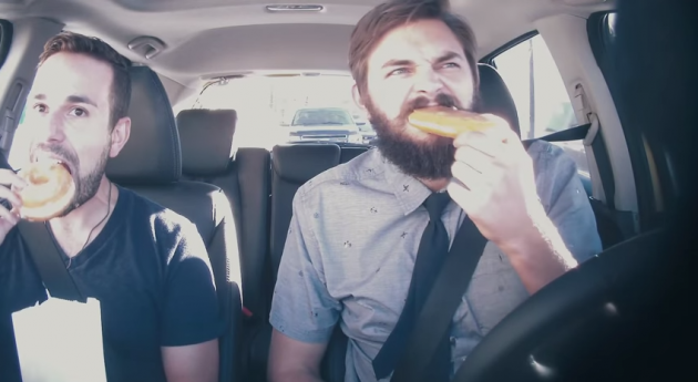 Nick Thune Drives a Honda Fit for Lyft