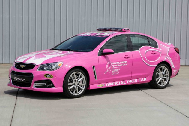 Chevy Plans to Fight Breast Cancer | Pink Chevy SS