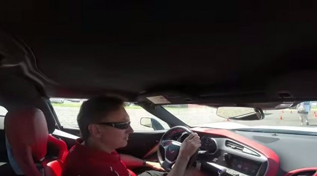 Take a lap at the National Corvette Museum Motorsports Park track with Ron Fellows.