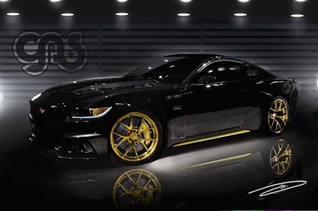 2015 GAS Mustang