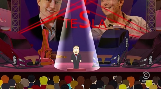 Elon Musk and Tesla Get South Park Treatment