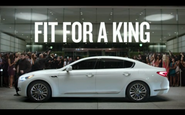 LeBron James' Kia K900 Commercial