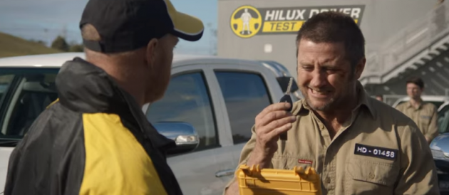 Toyota Hilux commercial