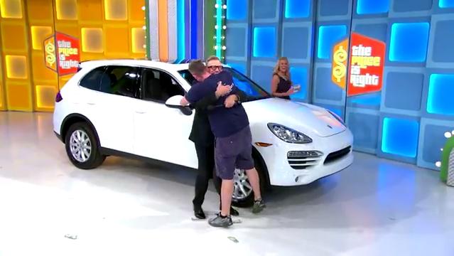 "New Tesla Roadster >> Porsche Cayenne Kicks Off ""Dream Car Week"" on The Price is ..."