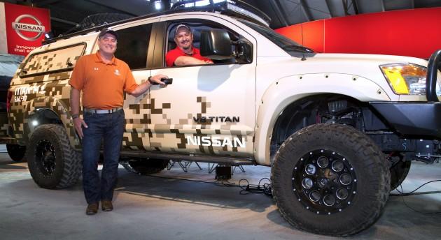 Project Titan truck returns