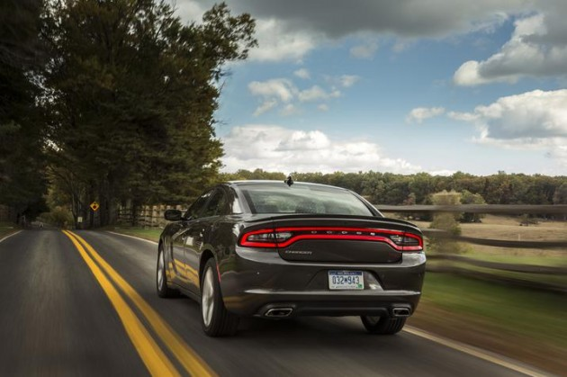 2015 Dodge Charger Swipes a 2015 ALG Residual Value Award