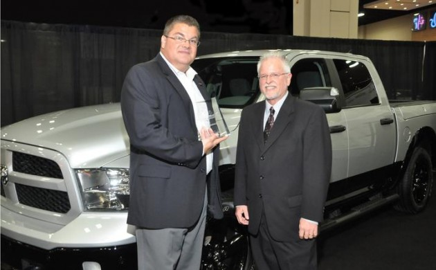Ram 1500 EcoDiesel wins 2015 Green Truck of the Year.