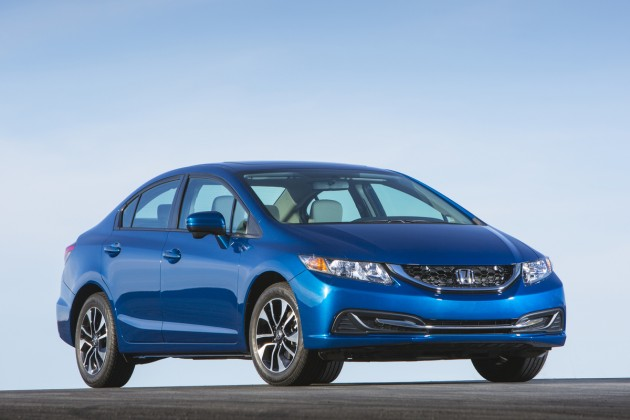 The Honda Civic, named a 2015 KBB Best Buy.