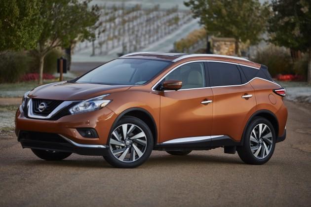 2015 Nissan Murano pricing