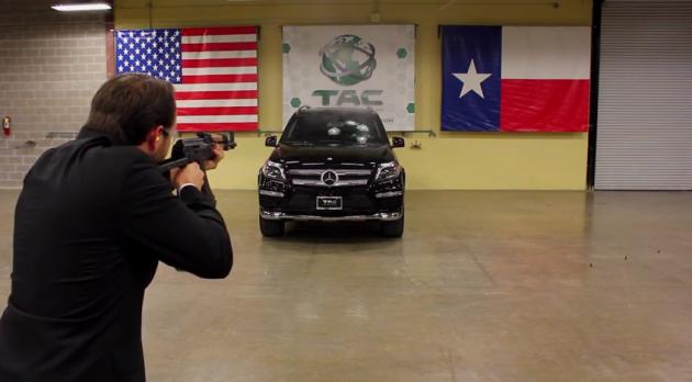 bulletproof Mercedes
