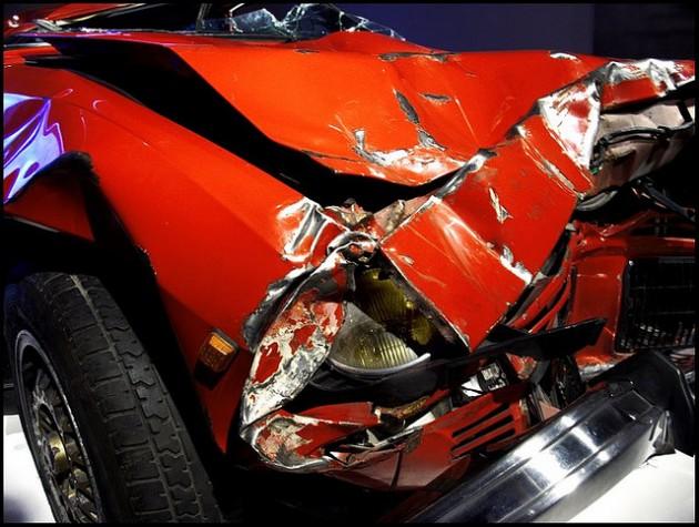 Car crash deadly emissions red bumper Car Emissions Kill More than Car Accidents Do