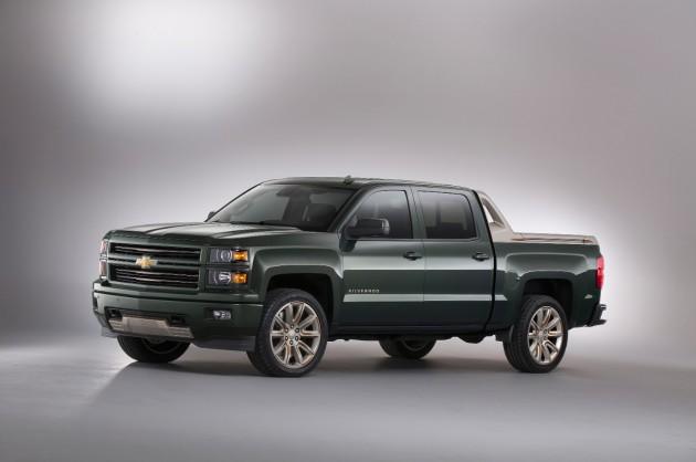 """GM Files Trademark Application for """"Active Tow"""": Silverado High Desert Concept"""
