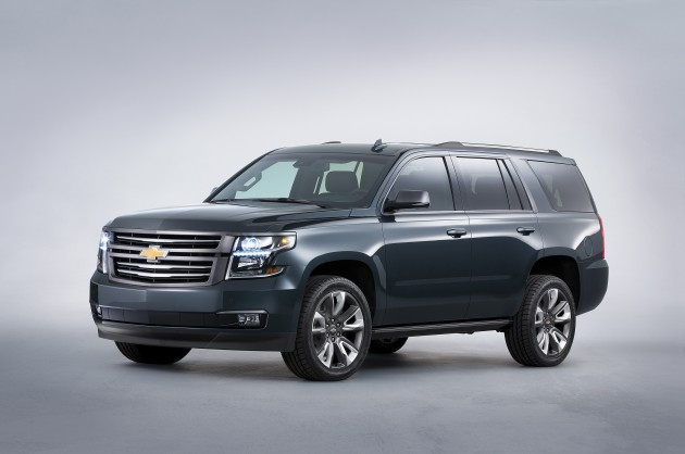 Chevy's Truck and SUV SEMA Concepts: Tahoe Premium Outdoors Concept