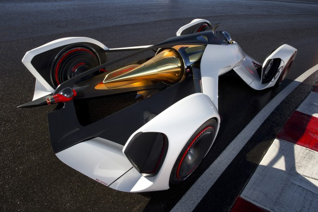 Chevy Chaparral 2X Vision Gran Turismo concept