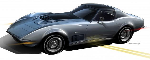 Jimmie Johnson's 1971 Corvette