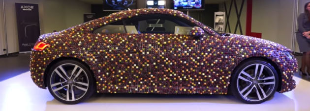 Chocolate-Covered Audi TT