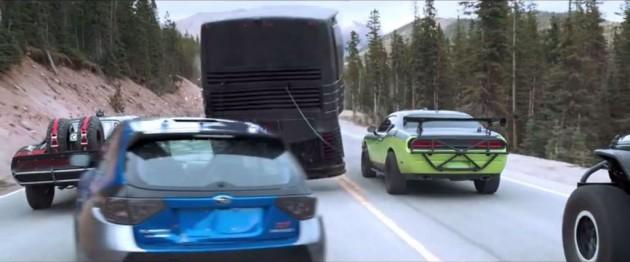 Furious 7 Trailer Cars Paul Walker Race Heist Movie Film 1