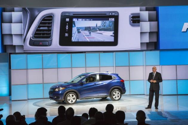 The 2016 Honda HR-V debuts at LA Auto Show
