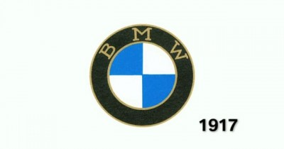 History of the BMW Logo Originate old 1917