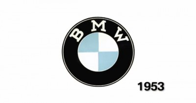 History of the BMW Logo Originate old 1953